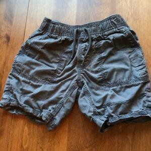 boys shorts, grey- xs (4/5) by Basic Editions